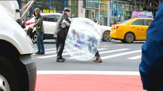 I Spent 24 Hours In A Giant Bubble (NYC)