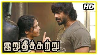 Irudhi Suttru Tamil Movie   Boxing Scenes   R Madhavan   Ritika Singh   Nasser   Sudha Kongara
