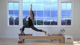 Courtney Miller Long and Lean Pilates Reformer Class