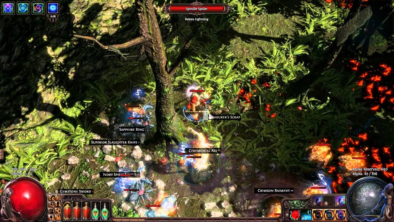 Path Of Exile Discharge Build