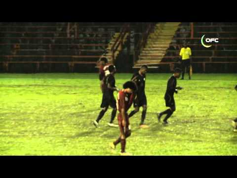 2013 OFC U 20 Championship Day 5 Vanuatu vs New Caledonia Highlights