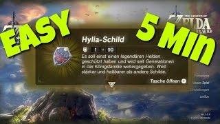 Hylia Schild in 5 Minuten erklärt. Einfach zu Beginn des Spiels Zelda Breath of the Wild