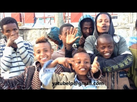 Touching interview with street kids of Addis