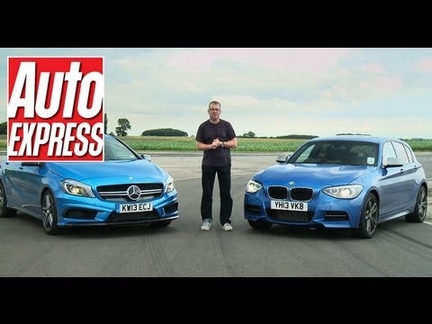 BMW M135i vs Mercedes A45 AMG review - Auto Express
