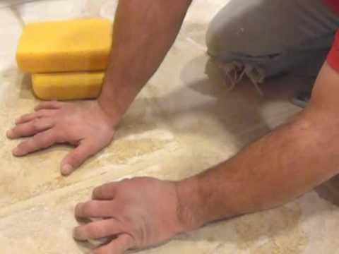 How to Grout ceramic tile