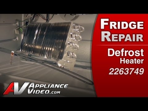 Refrigerator Repair& Diagnostic - Defrost Heater Whirlpool. Maytag. Amana. Roper # 2263749)