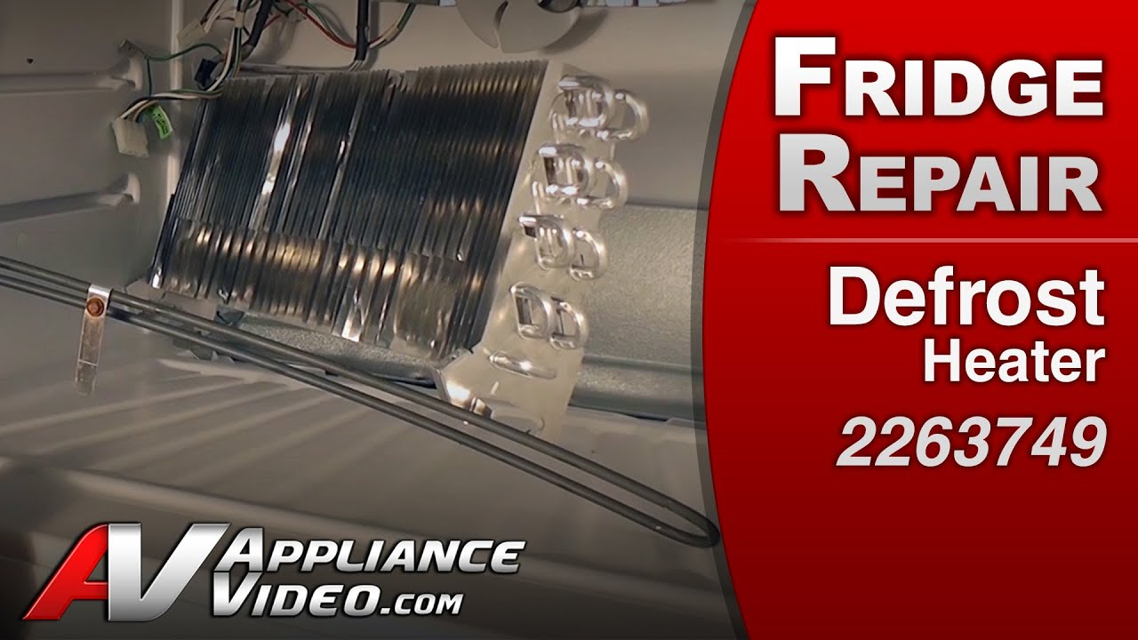 Refrigerator Repair Amp Diagnostic Defrost Heater Whirlpool