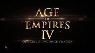 Age of Empires IV - Announce Trailer [ Gamescom 2017 ]