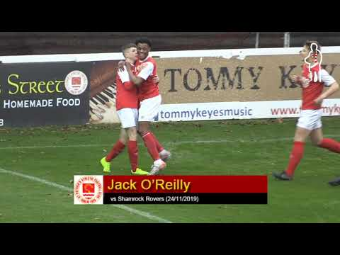 Goal: Jack O'Reilly (vs Shamrock Rovers 24/11/2019)