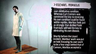 The Amazing Spider-Man Game Character Bio's: Michael Morbius