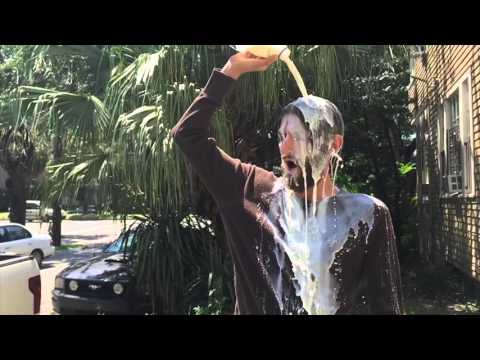 MUST SEE - MAN POURS MILK ON HIS OWN HEAD