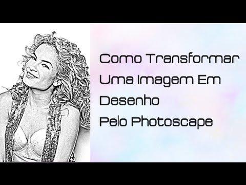 Como Transformar Uma Imagem Em Desenho Pelo Photoscape