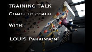 """Training Talk with Louis Parkinson: """"TRAINING SHOULD BE FUN!"""""""