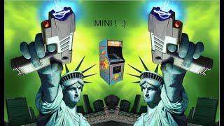 Ms. Pac Mini. Arcade Ms PAC-MAN HACK MISFIT MAME 1981 MIDWAY 2000 T-BONE