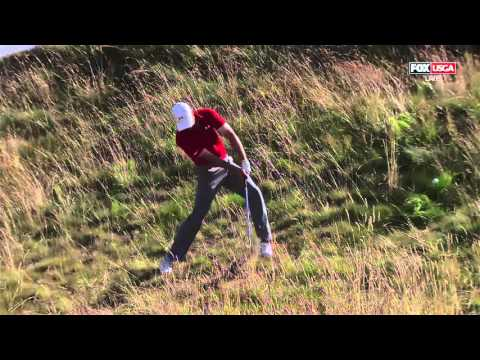 Johnson, Spieth, Day, Grace Share Lead at 2015 U.S. Open Golf Round 3
