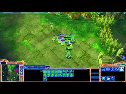 Starcraft II - Protoss Tutorial Working up from Bronze League - Part2