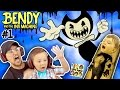 EVIL MICKEY MOUSE BENDY THE INK MACHINE Chapter 1 FGTEEV 2 Scary Kids Gameplay Jump Scares mp3