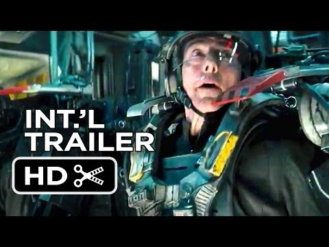 Edge of Tomorrow Official International Trailer #1 (2014) - Tom Cruise Movie HD