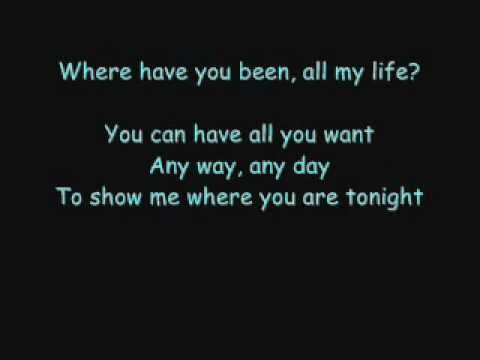 Rihanna - Where Have You Been Lyrics video