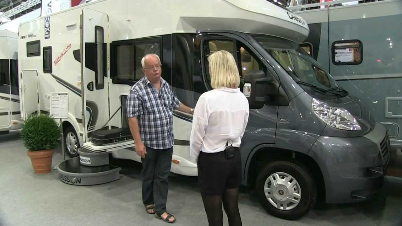 Chausson sweet garage 2014 model youtube - Camping car chausson sweet garage ...