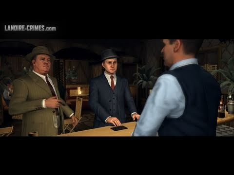 LA Noire - Walkthrough - Mission #8 - The Red Lipstick Murder (5 Star)