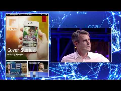 LeWeb 2011 Mike McCue, CEO, Flipboard and Loic Le Meur
