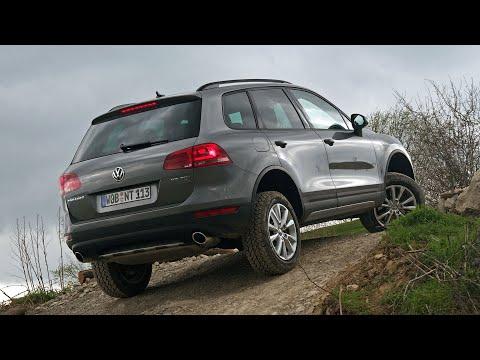Обзор Volkswagen Touareg — Внедорожные качества