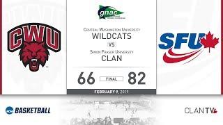 SFU Men's Basketball vs. CWU - February 9, 2019