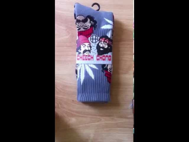 HUF X CHEECH & CHONG PLANTLIFE SOCKS REVIEW