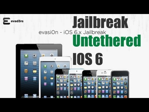 Jailbreak Untethered IOS 6.1/6.0.2/6.0.1/6.0 le suivre en direct sur Evasi0n!