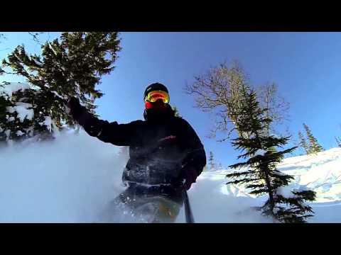 GoPro Hero 3 & Contour Roam 2 TEST #2 - Snowboard | Randonnée