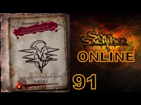 Let's Play Soul Sacrifice PS VITA - Part 91 - ONLINE - Avalon Pacts - VI.Pride - Sibylla