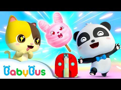 키키묘묘마법 조리기구|재미있는 동물 요리대회|베이비버스 마법한자  시리즈 동화 |BabyBus