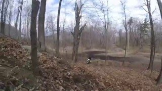 kdx200, klx300 mahwah riding + old train bridge