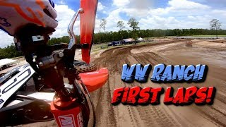 First Laps: WW Ranch Pro National Press Day On-Board