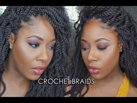 Crochet Braids   Wavy Kinky Senegalese Twists