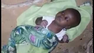 Un bébé abandonné par sa maman a la Cité Sonatel de Malika