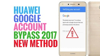 Huawei frp bypass lua u22 frp reset google account remove Done |2017| MrSolution