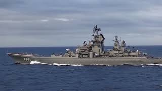 Tuần dương hạm lớp Kirov của hải quân Nga.