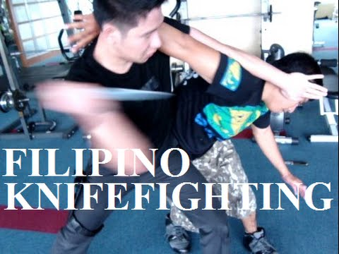 Filipino Knife Fighting Techniques Image 1