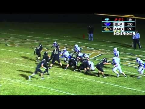 Spring Lake Park vs Andover, Section Final - Football (11/1/2013)