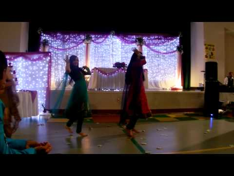 punjabi wedding reception peformance