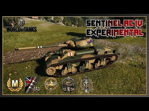 World of Tanks // Sentinel AC IV Experimental // Ace Tanker // 3 Marks of Excellence // Xbox One