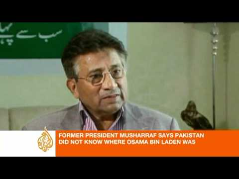 Gen.Pervez Musharraf  speaks to Al Jazeera