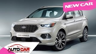 Ford Edge, Kuga and S-Max Vignale models revealed