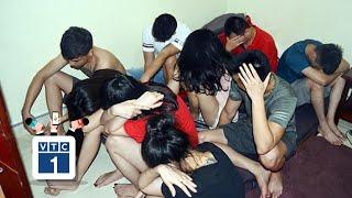 """Nghệ An: Nhóm thanh niên mở """"tiệc"""" ma túy trong phòng trọ"""