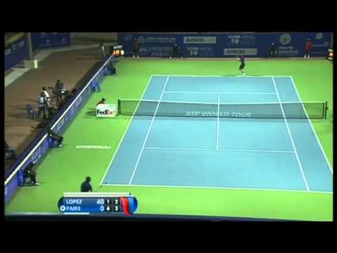 ACO 2014- Day4: Match 3 Highlights- G GARCIA-LOPEZ vs B PAIRE