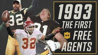 The FIRST Free Agency Frenzy! (1993) | NFL Vault Stories