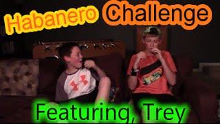Habanero Challenge | Feat. Trey!