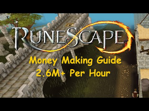 Runescape Guide: 2.6M+ Per Hour Money Making Guide [Legacy Mode] No requirements – iAm Naveed